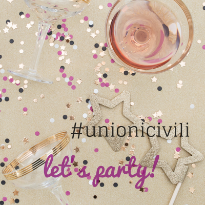 Unione civile idee per la festa